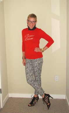 speckled pants | Two Take on Style