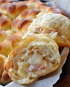 Torta di pan brioche salata cornetti ripieni antipasti ferragosto vickyart arte in cucina