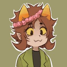homestuck trolls in flower crowns - Google Search