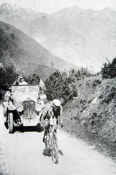 Tour de France 1922. 6^Tappa, 5 luglio. Bayonne > Luchon. Jean Alavoine (1888-1943)