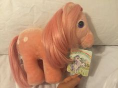 My Little Pony Plush Vintage Tags