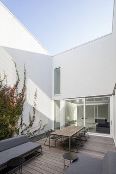Minimalist Contemporary Home by Dominique Jacquet and Anne Sophie Goneau