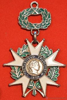Imperial Legion Of Honor Medal Worn By Napoleon I 19th Century CE FALERISTICS Pinterest