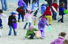 Palm Sunday Egg Hunt : Search for Easter eggs on the beach in Seaside Heights! Sunday 1pm