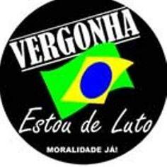 Brasil-Legenda-Vergonha-Estou de luto-Moralidade já!