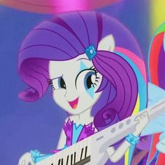 My Little Pony Equestria, Mlp My Little Pony, Equestria Girls, Cartoon Icons, Girl Cartoon, Cartoon Art, Funny Parrots, My Little Pony Pictures, Rarity