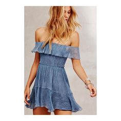 She's our blue jean baby... #theizzydress #dirtydyedenim #loveshackancy