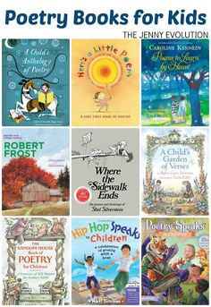 Poetry Books for Children + FREE Poetry Study Unit Resources