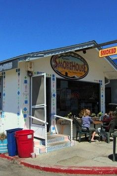 Delicious smoked foods from Cayucos California