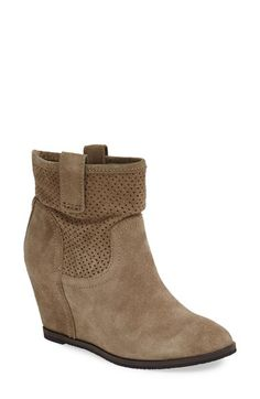 Free shipping and returns on Sole Society 'Keyla' Bootie (Women) at Nordstrom.com. A perforated shaft with a hint of slouch furthers the trend-right appeal of a casual bootie set on a hidden wedge for feminine height.