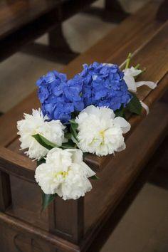 Un matrimonio in blu ai Castelli Romani