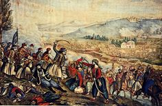 The Battle of Alamana was fought between the Greeks and the Ottoman Empire during the Greek War of Independence on April Greek Independence, Greek Warrior, Greek Fashion, Greek History, In Ancient Times, Ancient Greek, Ottoman Empire, Historical Photos, Marie