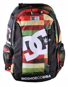 DC Shoes Seven Point Backpack / Red Plaid