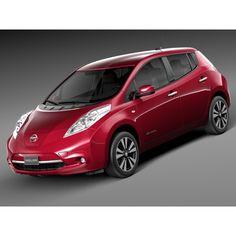 Nissan Leaf 2014 - 3D Model