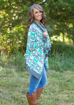 This cardigan is a must for fall!