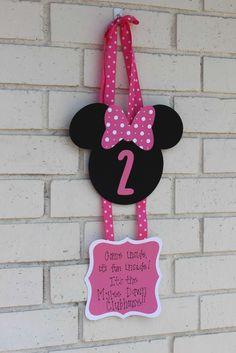 Mylee's Minnie Party | CatchMyParty.com