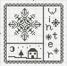 snowflake/ winter pattern