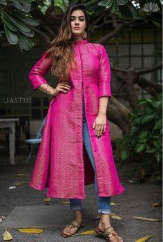 Designer Anarkali Dresses, Designer Dresses, Casual Dress Outfits, Trendy Outfits, Kurta Neck Design, Kurta Designs Women, Types Of Dresses, Saree Blouse Designs, Indian Designer Wear