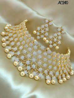Indian Bridal Jewelry Sets, Indian Jewelry Earrings, Jewelry Design Earrings, Jhumkas Earrings, Wedding Jewellery Designs, Wedding Jewellery Inspiration, Fancy Jewellery, Bollywood Jewelry, Choker