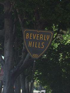 Had fun in Beverly Hills
