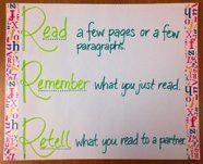 Read, Remember, Retell