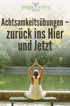 Mindfulness exercises for everyday life - Yoga Health Symbol, Health Logo, Yin Yoga, Yoga Meditation, Yoga Inspiration, Yoga Stretching, Relaxation Pour Dormir, Yoga Style, Pilates Body