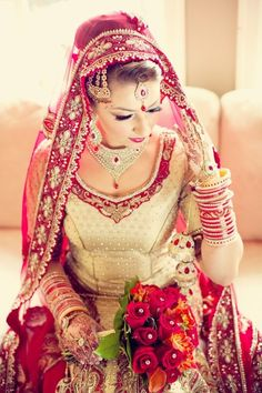 Indian bride| Indian wedding| Indian bridal jewelry