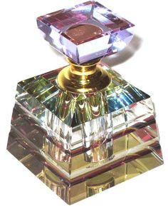 Well Jeweled Crystal Perfume Bottle