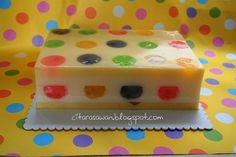 Puding Polkadot Fruit Jelly ~ Resepi Terbaik