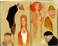 nicolas marlet sketchbook - Google Search