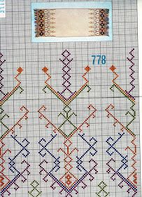 A collection of embroidery patterns for all ocassions Russian Embroidery, Folk Embroidery, Vintage Embroidery, Cross Stitch Embroidery, Embroidery Patterns, Cross Stitch Designs, Cross Stitch Patterns, Diy Crafts Love, Greek Pattern