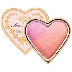 Too Faced Sweethearts Perfect Flush Blush (€24) ❤ liked on Polyvore featuring beauty products, makeup, cheek makeup, blush, beauty, candy glow, filler and too faced cosmetics