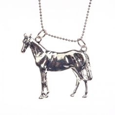 Gallant horse necklace Horse Necklace, Moose Art, Horses, Animals, Jewelry, Animales, Jewlery, Animaux, Bijoux