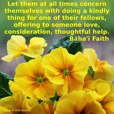 bahai quotes on friendship