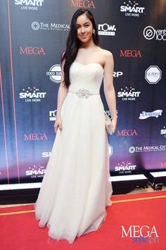 Julia Barretto Strapless Dress Formal, Formal Dresses, Wedding Dresses, Long Gowns, Actresses, Cocktail Dresses, Celebrities, Cover, Hot