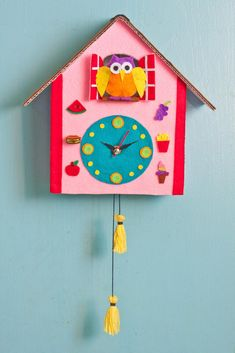 Although building a cuckoo clock may be intimidating, this tutorial will walk you through each step. Let's get started!