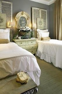 shabby chic shutters - Google Search