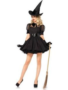 Sexy Bewitching Witch Costume For Women
