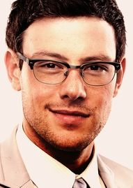 loving me some corey monteith especially in those glasses