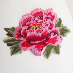 floral iron on patches -