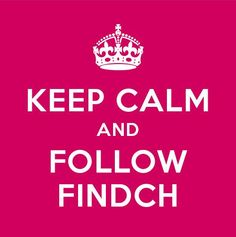 Keep calm and follow Findch