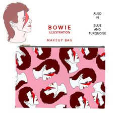 David bowie makeup by FiaMiaCases on Etsy