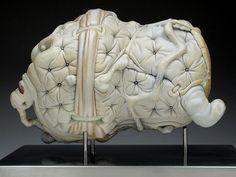 a contemporary ceramics image resource Jason Briggs, Sculpture Art, Sculptures, Image Resources, Contemporary Ceramics, Ceramic Art, Statue, Elephants, Art Ideas