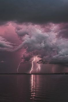 Lightning Storm Over Tampa, Florida by James Cundiff