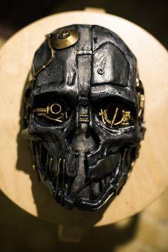 Corvo Attano Inspired Dishonored Korvo Fan Art mask by Maskforsale, $69.00 COOOOOOOL!!!