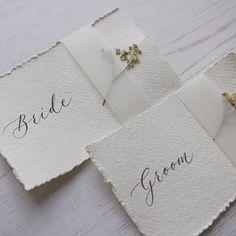Handwritten Calligraphy | Babooche Calligraphy Calligraphy Wedding Place Cards, Calligraphy Save The Dates, Foil Wedding Invitations, Modern Calligraphy, Card Table Wedding, Wedding Cards, Wedding Tables, Wedding Name, Wedding Shit