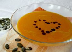 silesian pumpkin soup is a german recipe from Silesia, Schlesien! #authenticgerman #germanrecipes