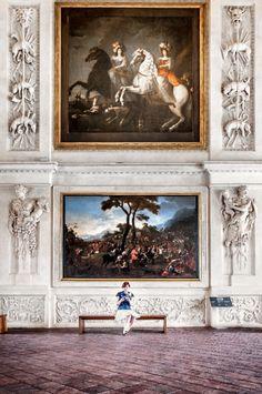 La Venaria Reale - near Turin, Italy #Baroque palace, architect Amedeo di Castellamonte 1675