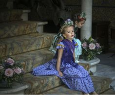 Moda flamenca infantil de Marta Arroyo. J.M. Serrano Spanish Fashion, Little People, Harajuku, Baby Kids, Inspiration, Beautiful, Dresses, Gypsy, Latest Fashion