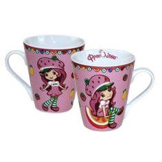 Mugs, Tableware, Gift Wrapping, Strawberry Shortcake, Dinnerware, Cups, Dishes, Mug, Tumbler